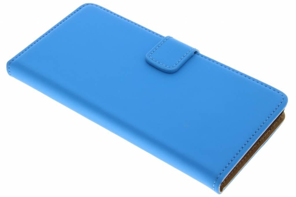 Selencia Luxe Book Case voor de Wiko Pulp 4G - Blauw