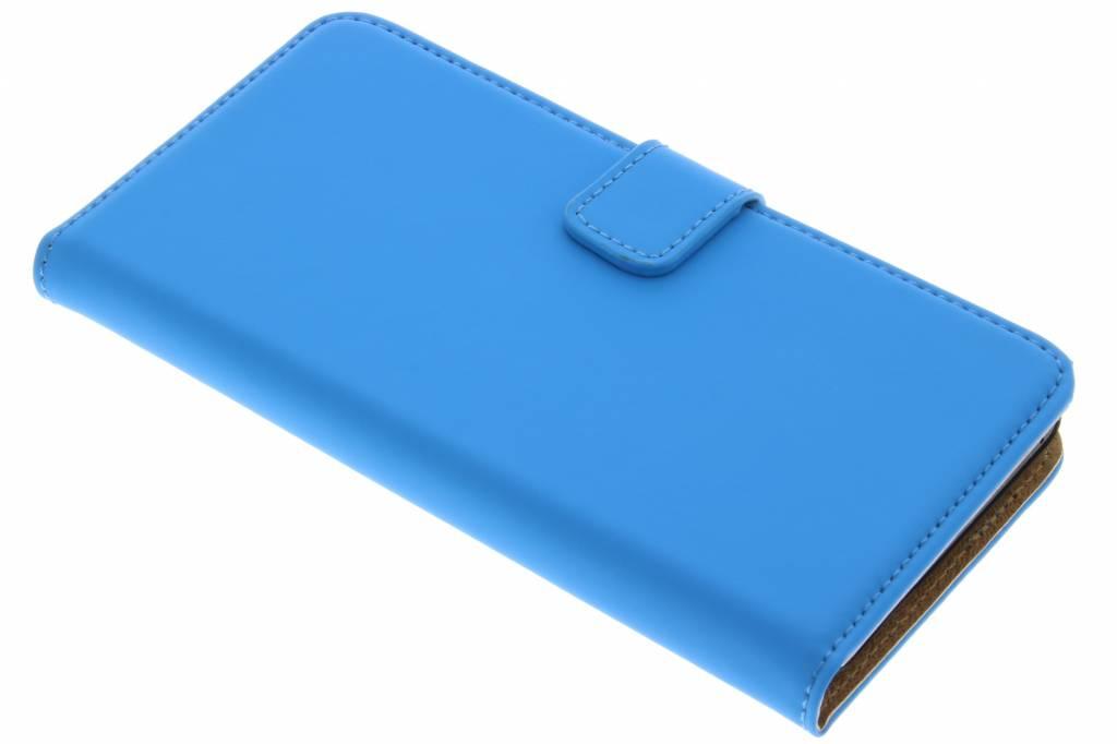 Selencia Luxe Book Case voor de Wiko Lenny 2 - Blauw
