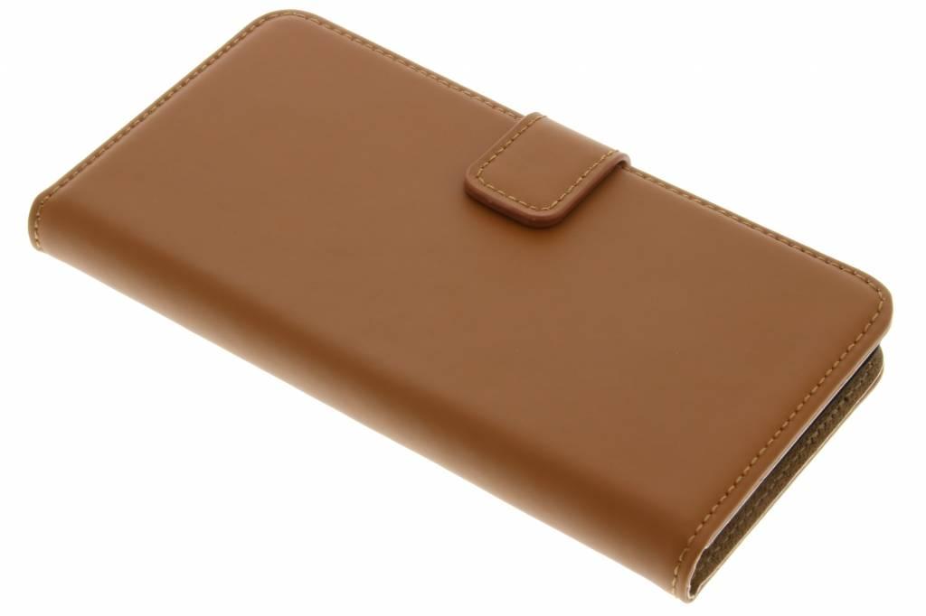 Selencia Luxe Book Case voor de Wiko Lenny 2 - Bruin