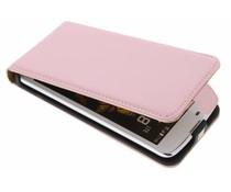 Selencia Luxe Flipcase LG K8 - Poederroze