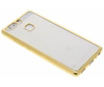 Goud TPU hoesje met metallic rand Huawei P9