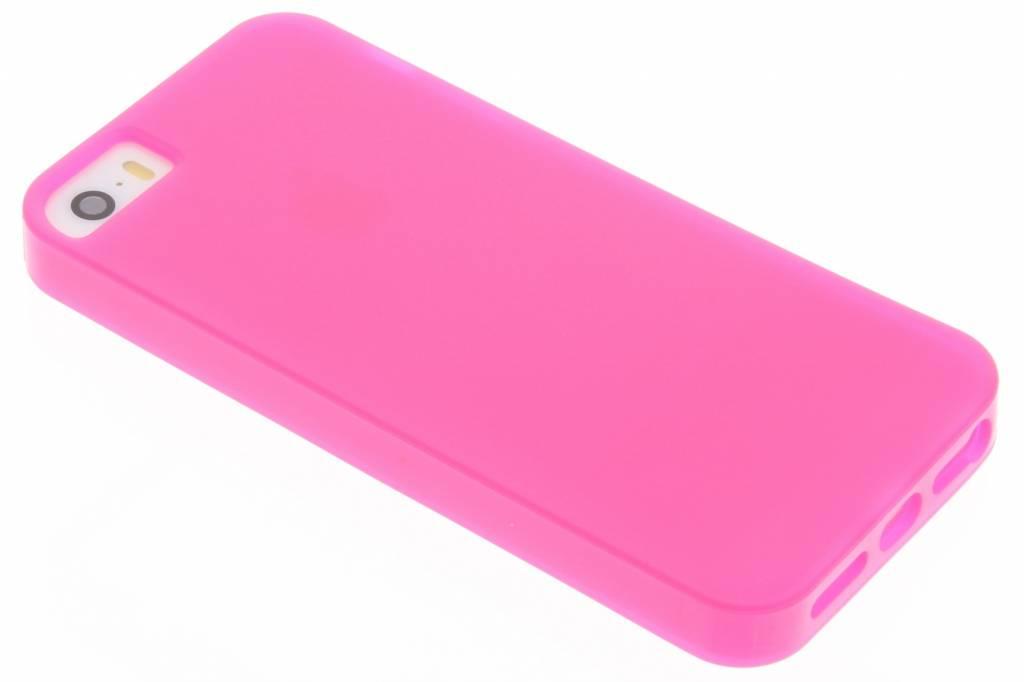 Roze 360° Defense TPU Cover voor de iPhone 5 / 5s / SE