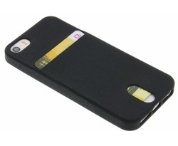 TPU siliconen card case iPhone 5 / 5s / SE