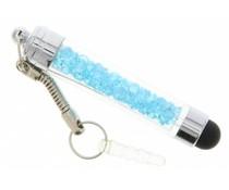 Mini transparante stylus - Turquoise