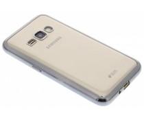 TPU hoesje met metallic rand Samsung Galaxy J1 (2016)
