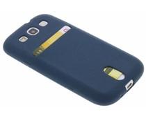 TPU siliconen card case Samsung Galaxy S3 / Neo