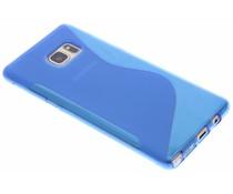 Blauw S-line TPU hoesje Samsung Galaxy Note 7