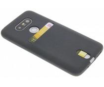 Grijs TPU siliconen card case LG G5 (SE)