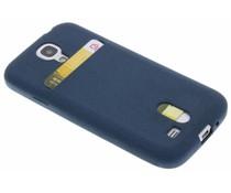 TPU siliconen card case Samsung Galaxy S4