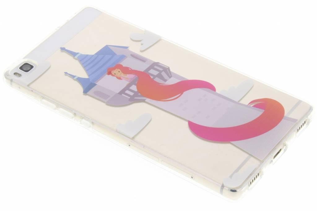 Rapunzel Sprookjes TPU siliconen hoesje voor de Huawei P8