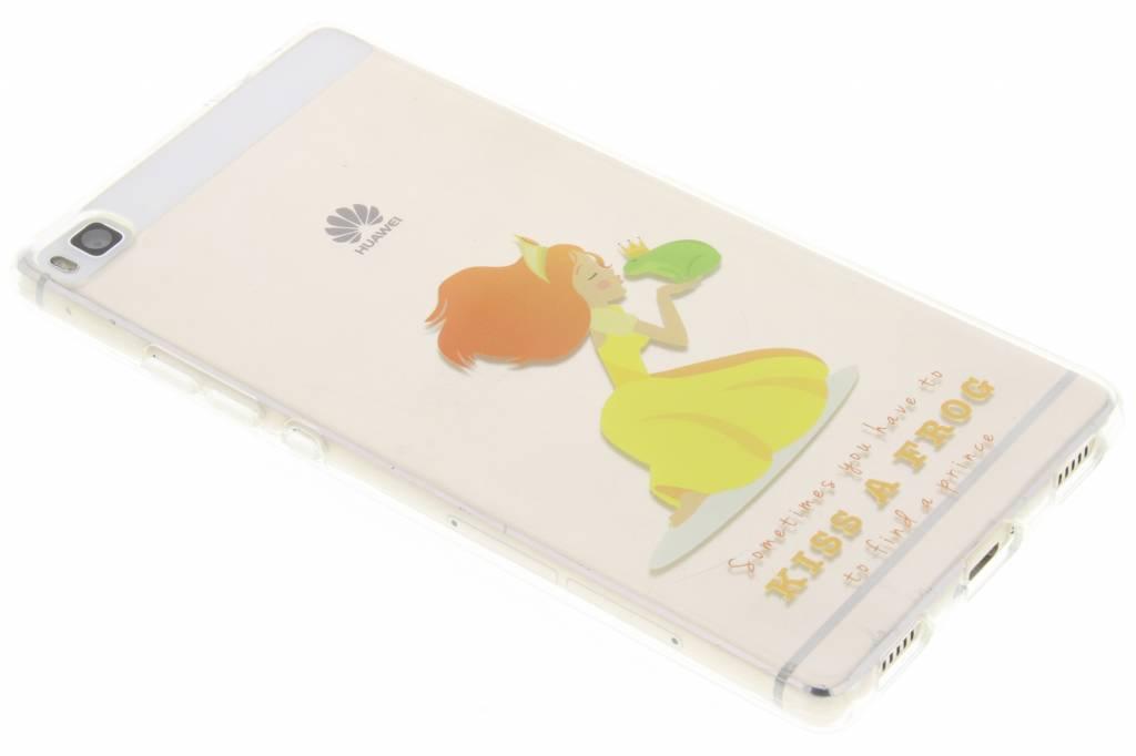 Kiss the frog Sprookjes TPU siliconen hoesje voor de Huawei P8