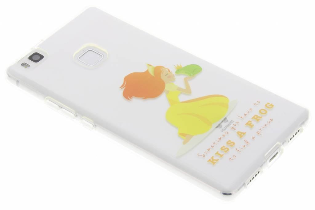 Kiss the frog Sprookjes TPU siliconen hoesje voor de Huawei P9 Lite