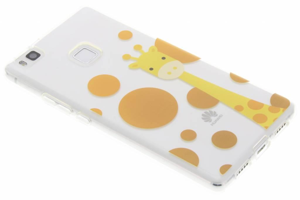 Giraffe ZooTPU siliconen hoesje voor de Huawei P9 Lite