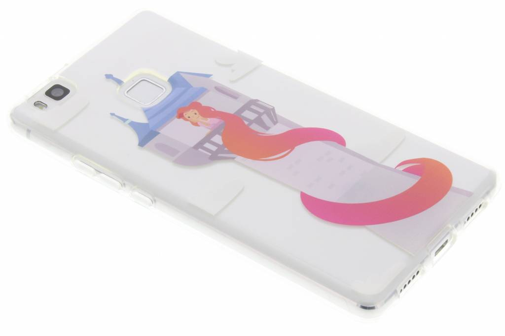 Rapunzel Sprookjes TPU siliconen hoesje voor de Huawei P9 Lite
