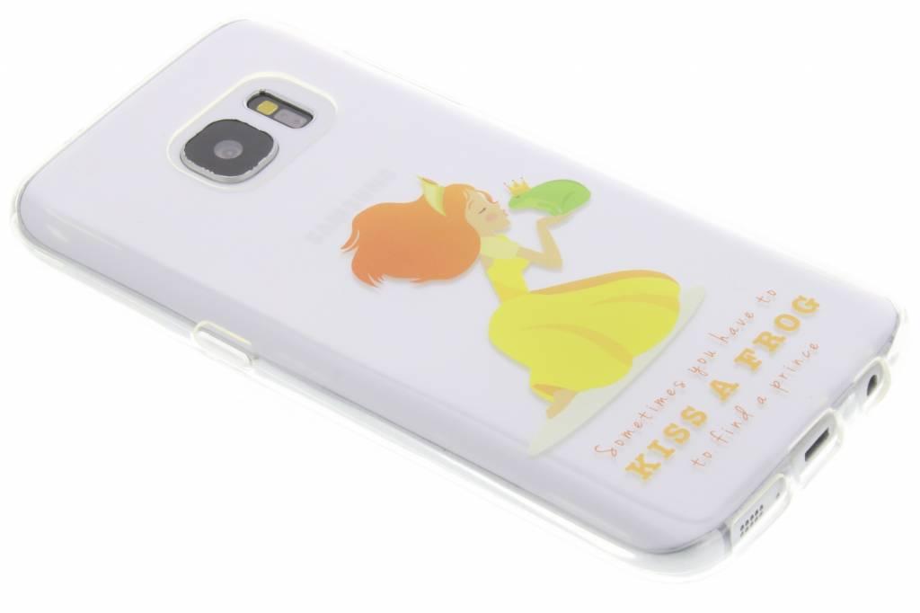 Kiss the frog Sprookjes TPU siliconen hoesje voor de Samsung Galaxy S7