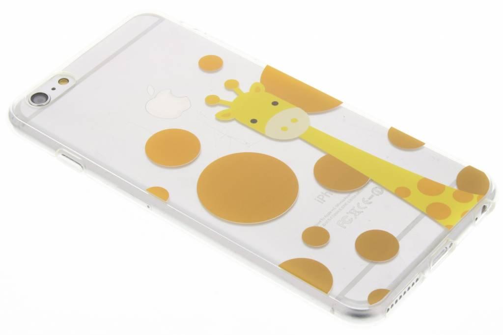Giraffe Zoo TPU siliconen hoesje voor de iPhone 6(s) Plus