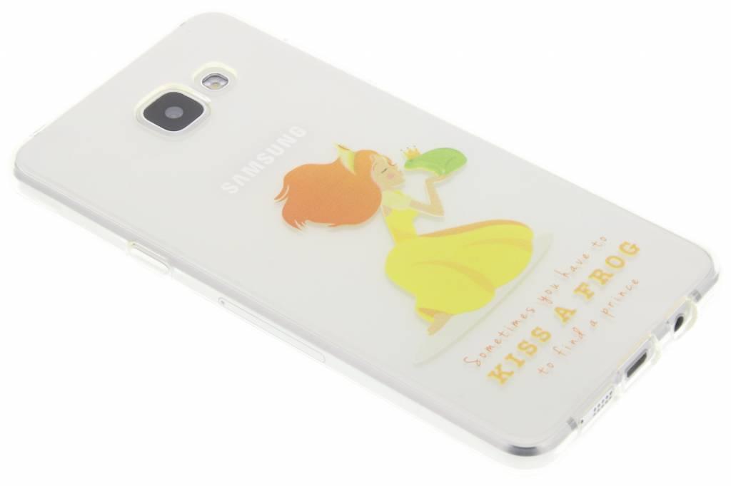 Kiss the frog Sprookjes TPU siliconen hoesje voor de Samsung Galaxy A5 (2016)