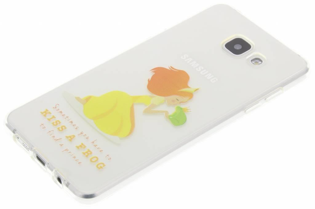 Embrasser Le Cas De Fée De Grenouille Tpu Silicone Pour Samsung Galaxy A5 (2016) tbOuKbYig