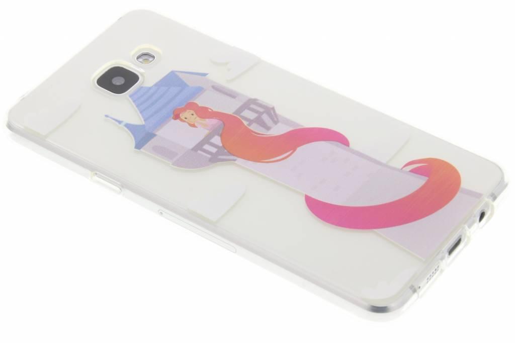 Rapunzel Sprookjes TPU siliconen hoesje voor de Samsung Galaxy A5 (2016)