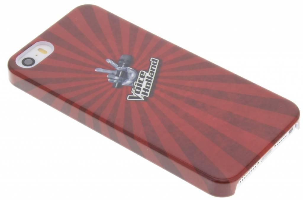The Voice of Holland Logo design Hardcase hoesje voor de iPhone 5 / 5s / SE