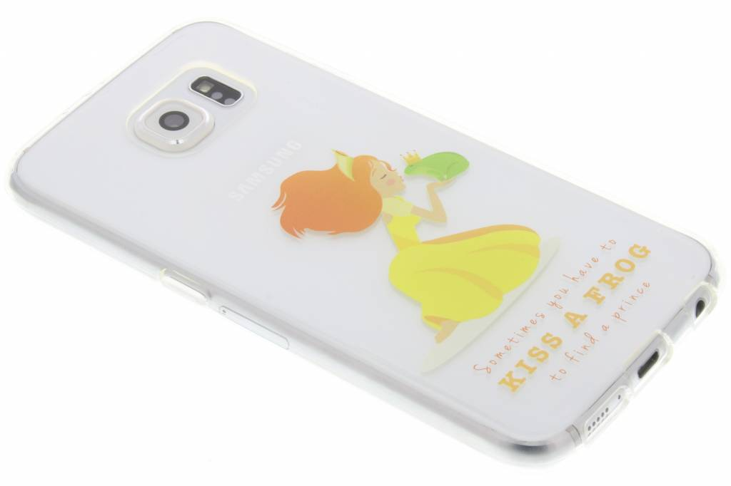 Kiss a frog Sprookjes TPU siliconen hoesje voor de Samsung Galaxy S6