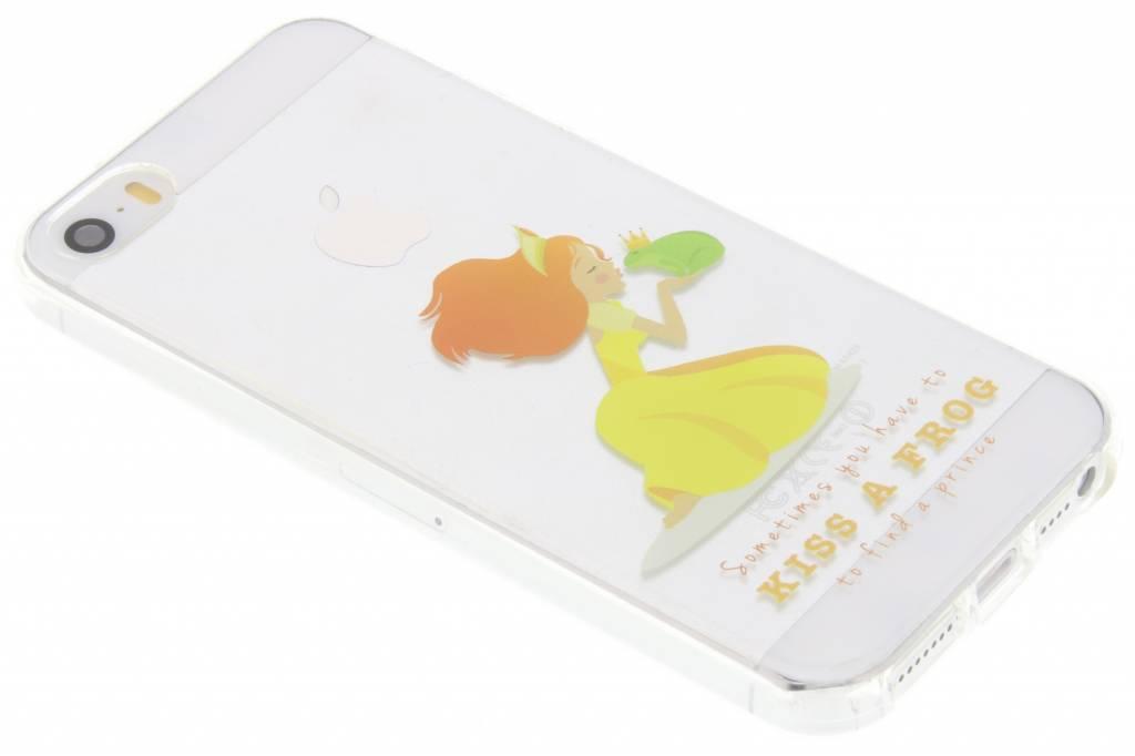 Kiss a frog Sprookjes TPU siliconen hoesje voor de iPhone 5 / 5s / SE