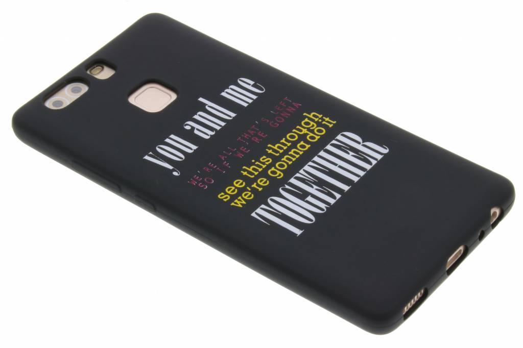 You and me glow in the dark TPU case voor de Huawei P9