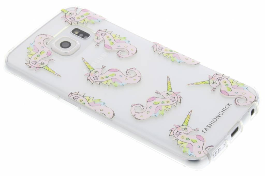 Fashionchick Unihorse Softcase voor de Samsung Galaxy S6 Edge
