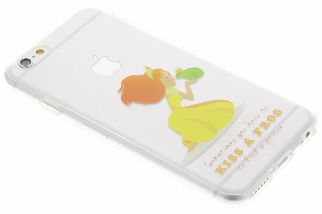 Kiss a frog Sprookjes TPU siliconen hoesje voor de iPhone 6 / 6s