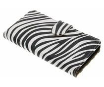 Zebra booktype hoes Wiko Rainbow Jam 3G