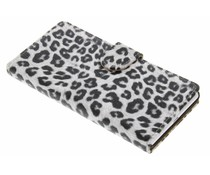 Luipaard booktype hoes Huawei Ascend P7