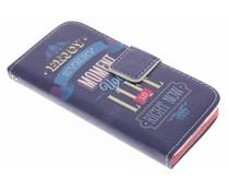Design TPU booktype hoes Samsung Galaxy S5 Mini