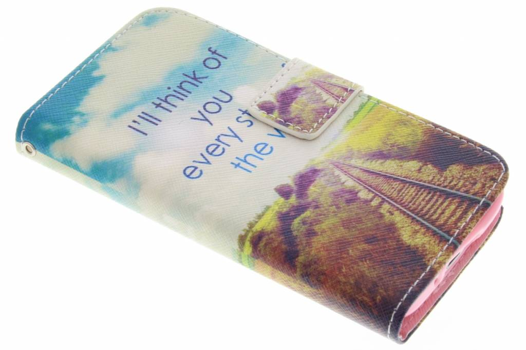 Think of you design TPU booktype hoes voor de Samsung Galaxy S5 Mini