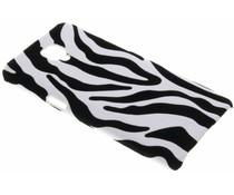 Zebra flock hardcase hoesje OnePlus 3 / 3T