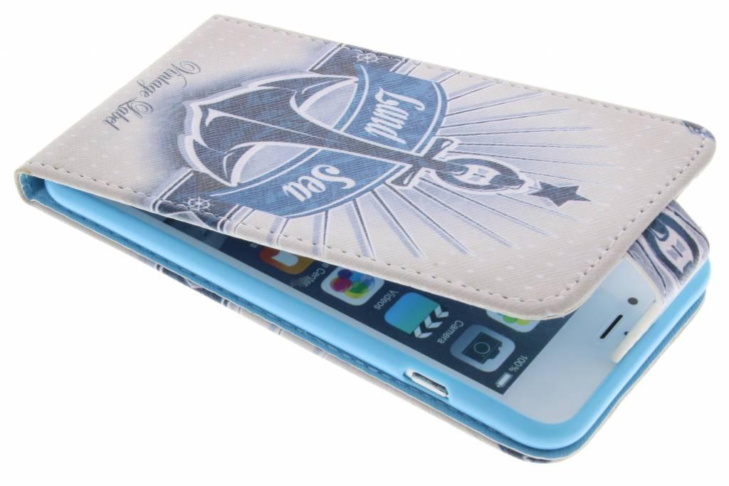 Anker design TPU flipcase voor de iPhone 6(s) Plus