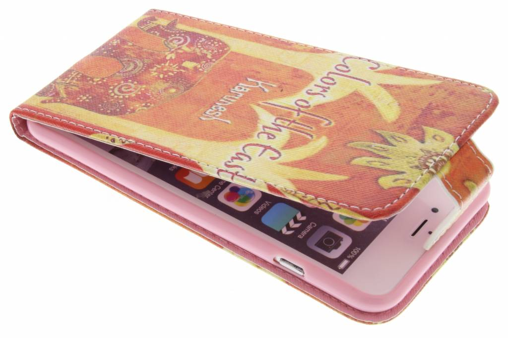 Olifant design TPU flipcase voor de iPhone 6(s) Plus