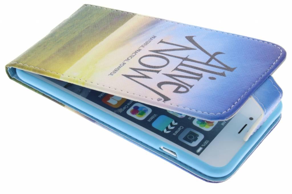 Alive now design TPU flipcase voor de iPhone 6(s) Plus