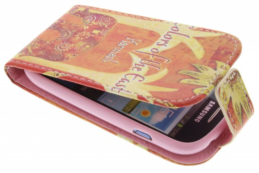 Olifant design TPU flipcase voor de Samsung Galaxy S3 Mini