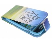 Design TPU flipcase Samsung Galaxy S3 Mini