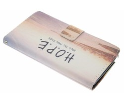 Design TPU booktype hoes Samsung Galaxy Note 4