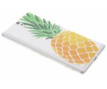 Transparant fruit design TPU hoesje Sony Xperia C5 Ultra