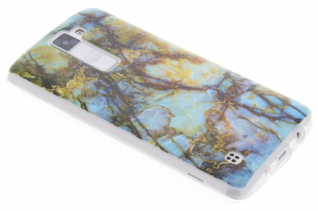 Marmer design TPU siliconen hoesje voor de LG K8