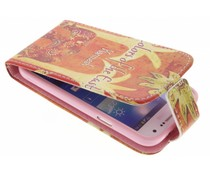 Design TPU flipcase Samsung Galaxy S4 Mini
