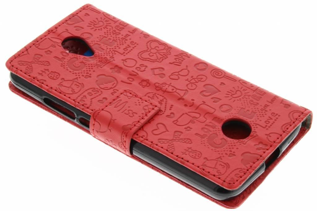 Bande Dessinée Rouge Cas De Type Livre De Conception Pour Acer Le Zeste Liquide (4 G) VkNzL