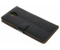 Kreukelleder booktype hoes OnePlus 3