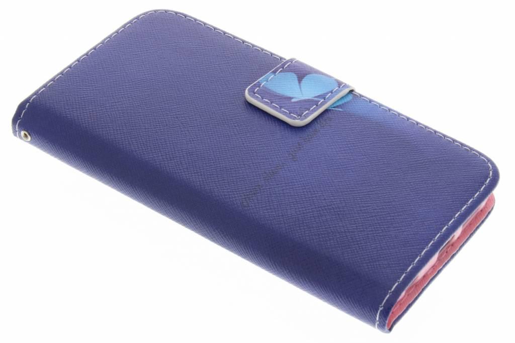 Vlinder design TPU booktype hoes voor de Samsung Galaxy S6 Edge