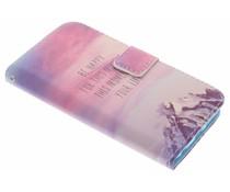 Design TPU booktype hoes Samsung Galaxy S6 Edge