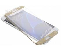 ZAGG Glass Contour screen protector Galaxy S7 Edge - Goud