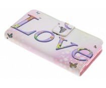 Design TPU booktype hoes Sony Xperia Z3 Compact