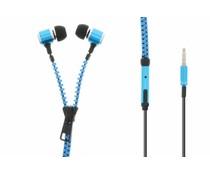 Muvit MuZip Headset met rits - Blauw